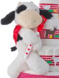 Gund Fuzzy Cow Plush Baby Toy