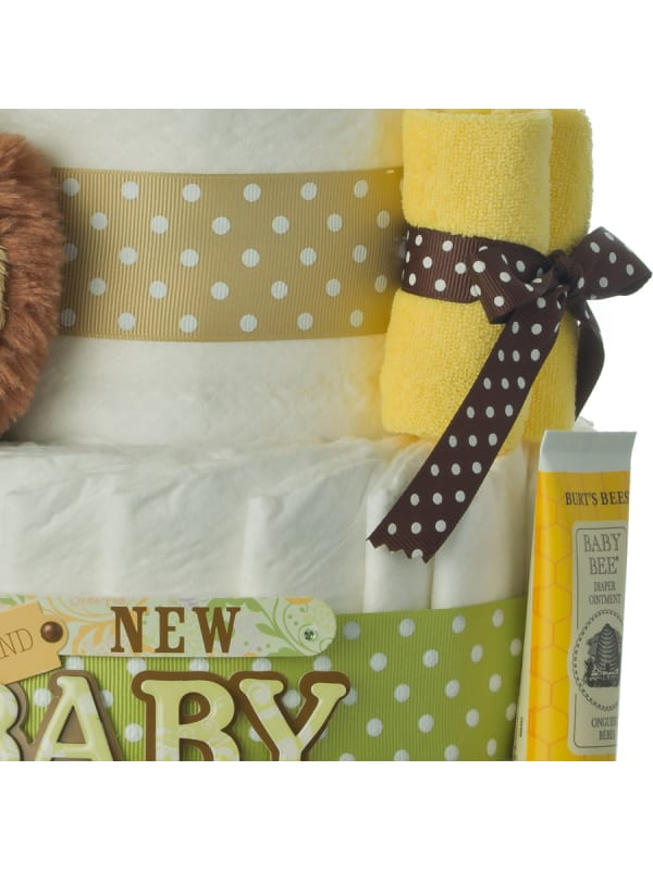 Brand New Baby Bear 4 Tier Diaper Cake
