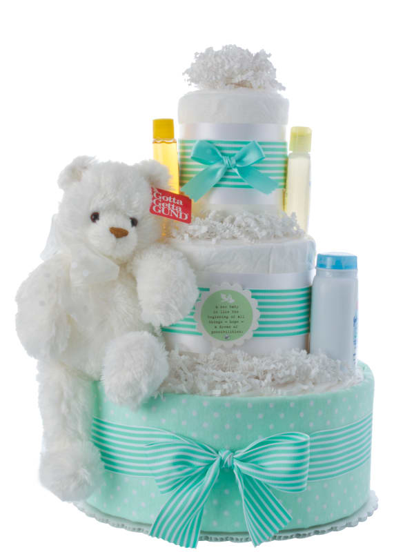 New Beginning Diaper Cake