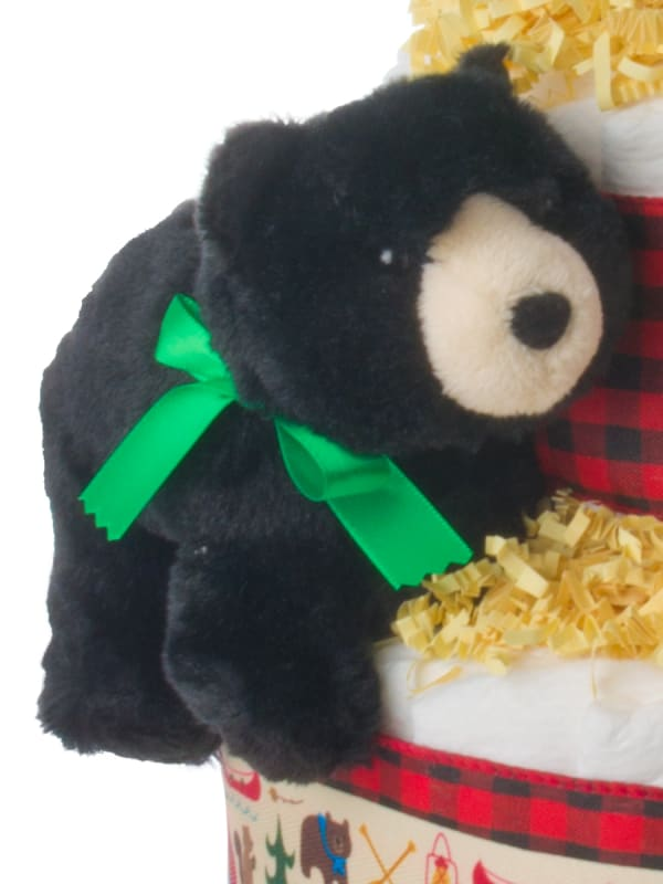 Forest Friends 4 Tier Diaper Cake