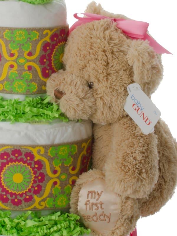 Bright Baby Girl Lil' Baby Cake