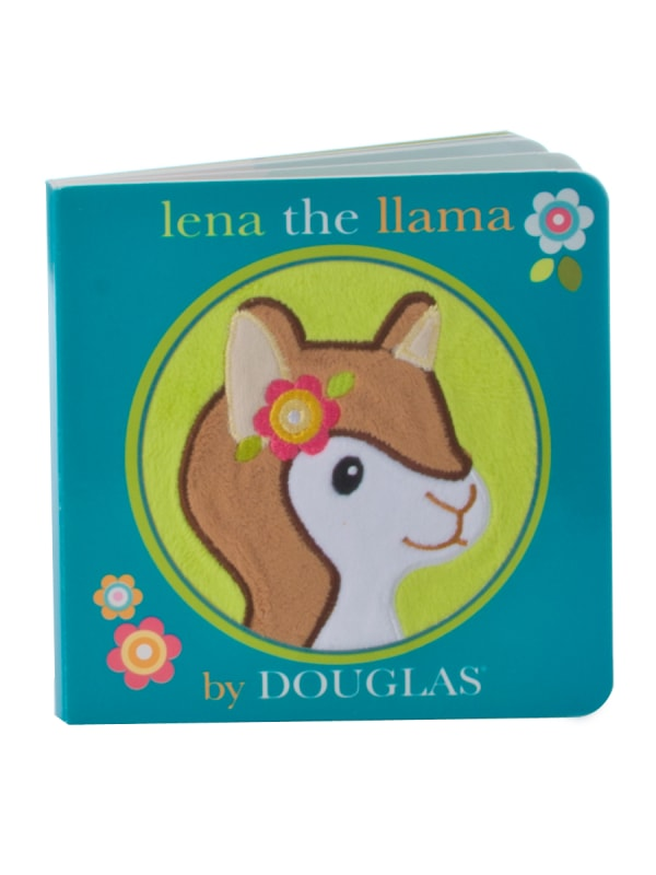 Lena the Llama Diaper Cake & Book
