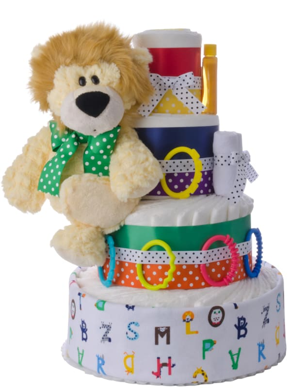 L is for Lion Pampers Cake Neutral