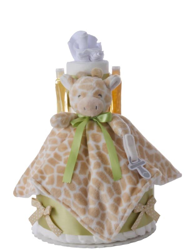 My Lil' Giraffe Baby Diaper Cake