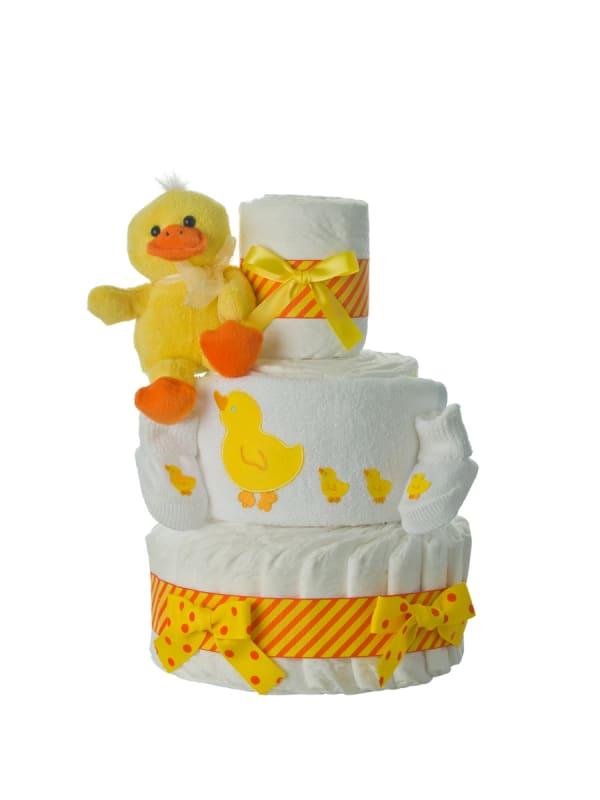 Quack Quack 3 Tier Diaper Cake