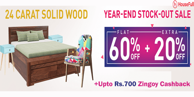 Housefull   upto 60  %2bextra 20  off on solid wood furniture cpcopl