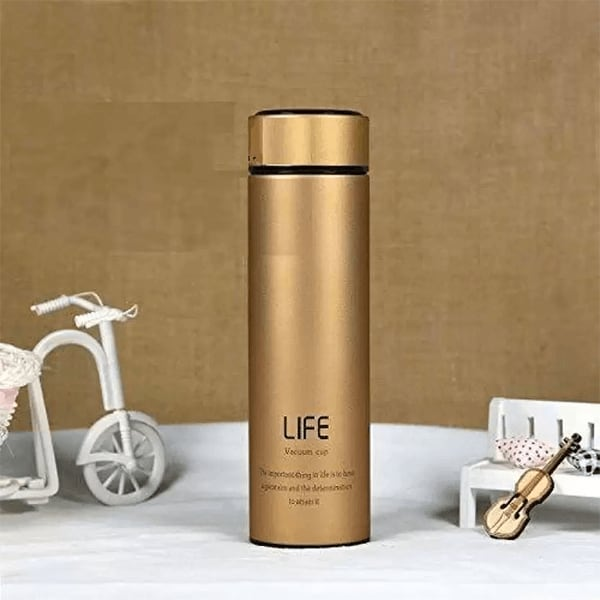 Double Wall Vacuum Insulated Stainless Steel LIFE Flask (Assorted colors)