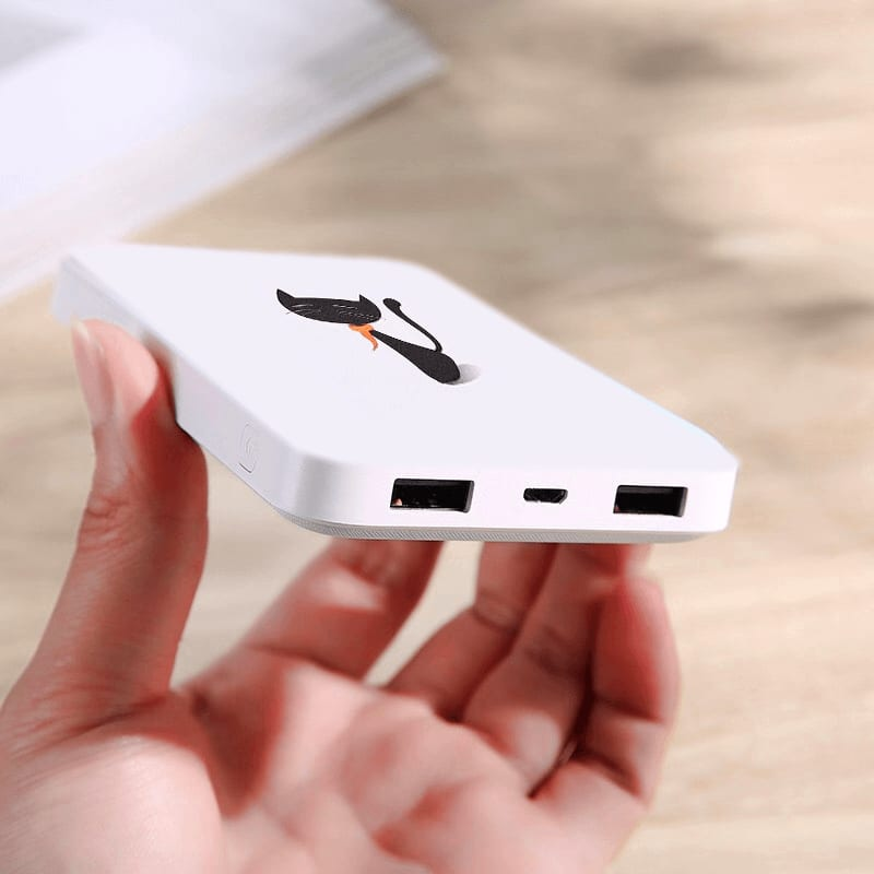 Fancy/Stylish Feline Powerbank (10000 mAh with Dual Ports) for the Fashionista in You