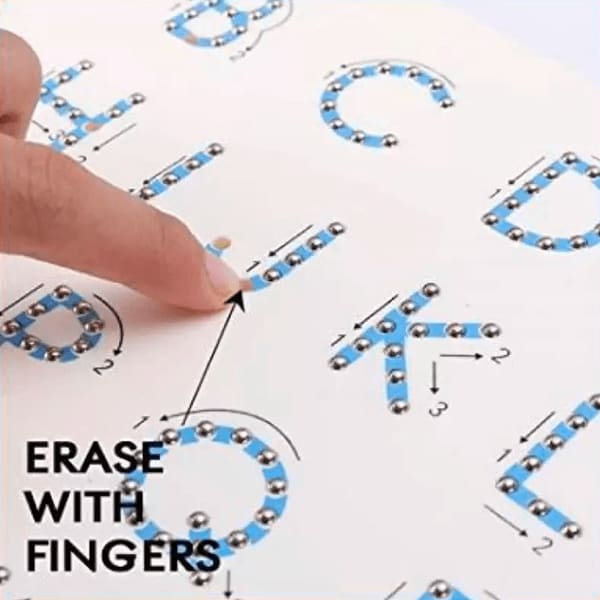 Mag Pad Education Learning Magnetic Erasable Doodle Writing Pad for Kids