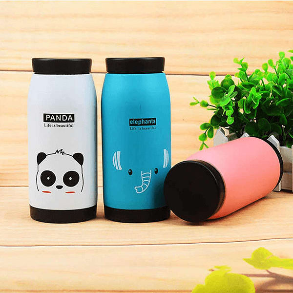 Cute Animal Cartoon Stainless Steel Double Insulated Vacuum Flasks/ Thermos- 500ML