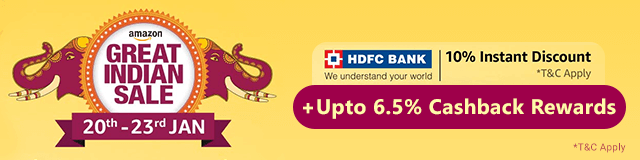 b6fff2bd4138 Amazon Great Indian Sale Offers  Upto 80% Off + HDFC Bank Offers ...