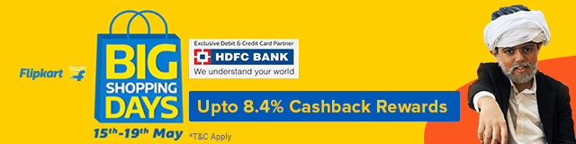 f319b6e13 Flipkart Big Shopping Days Sale Offers  Upto 80% OFF + HDFC Bank ...