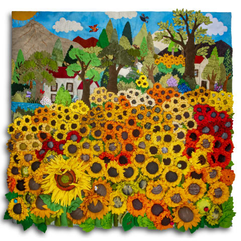ARP608Q Sunflower Field
