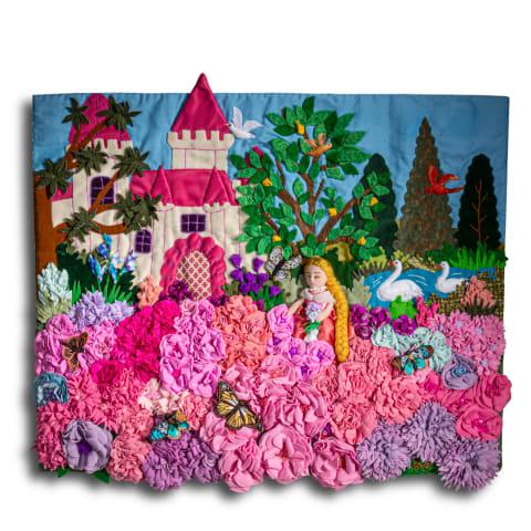 Fairy Tale Princess and Castle by Lucuma Designs