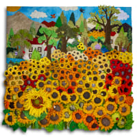 Sunflower Field - Square