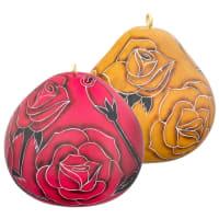 CRG614C Rose Gourd Ornament