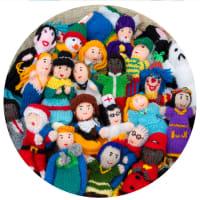 UKP002R Acrylic People Assorted