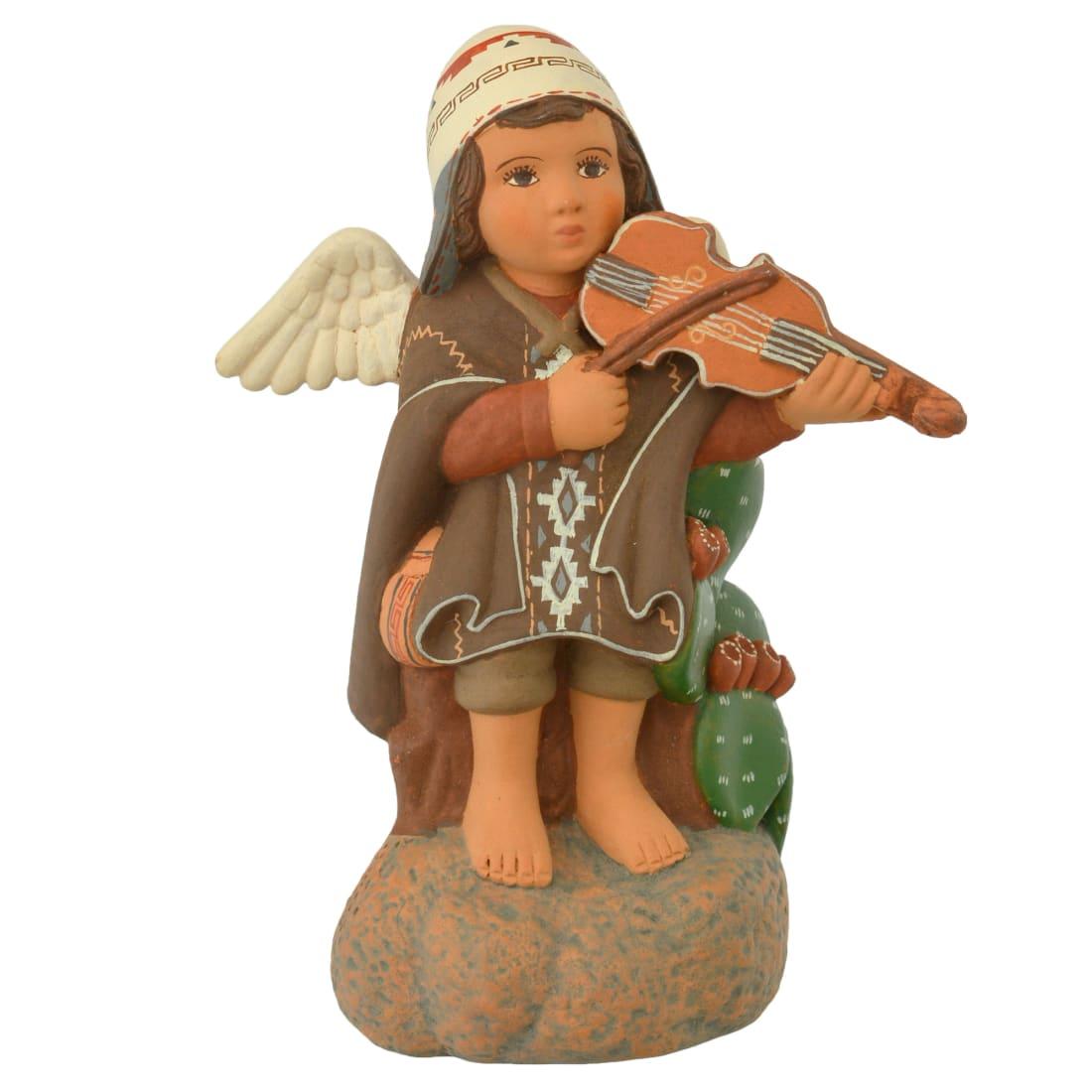 FVF125P Sitting Angel with Violin