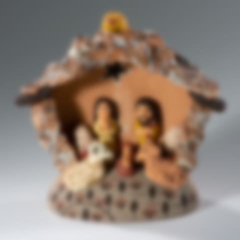 FAN314P Andean Nativity Creche