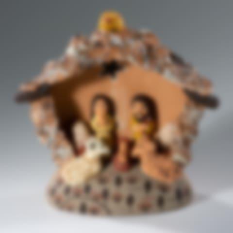 FAN314P Andean Nativity Creche