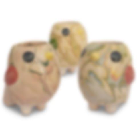 Bird Bobo - Swirly Pot Mini