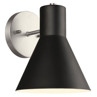 Towner One Light Wall / Bath Sconce Brushed Nickel