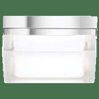 Boxie Small Flush Mount Small Chrome 3000K 100 CRI incandescent 120v (t20)