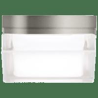 Boxie Small Flush Mount Small Satin Nickel 2700K 90 CRI led 2700k 120v