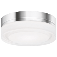 Cirque Small Flush Mount Small Chrome 3000K 90 CRI led 90 cri 3000k 277v