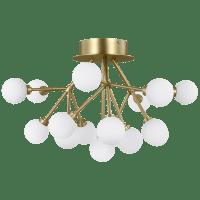 Mara Ceiling Aged Brass 2700K 90 CRI integrated led 90 cri 2700k 120v-277v unv (t24)