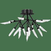 Spur Ceiling Matte Black 2700K 90 CRI integrated led 90 cri 2700k 120v-277v unv (t24)