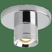 Sopra Flush Mount Metal Optic Ring Chrome 3000K 90 CRI