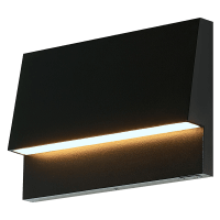 Krysen Outdoor Wall/Step Light Black 2700K/3000K Selectable 90 CRI 12V