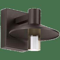 Ash 8 Outdoor Wall Bronze Cylinder 3000K 90 CRI 3000K High Output, Button Photocontrol