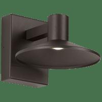 Ash 8 Outdoor Wall Bronze Dome 2700K 90 CRI 2700K Low Output, Button Photocontrol