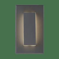 Aspen 8 Outdoor Wall Charcoal 3000K 90 CRI Surge Protection