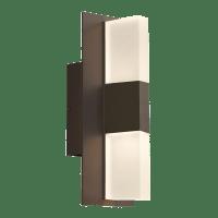 Lyft 12 Outdoor Wall Bronze Diffuser 2700K 80 CRI Surge Protection
