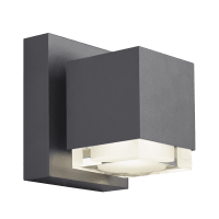 Voto 6 Outdoor Wall Charcoal 3000K 80 CRI Downlight Only