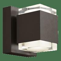 Voto 8 Outdoor Wall Bronze 3000K 80 CRI Uplight & Downlight
