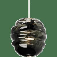 Audra Pendant Smoke Satin Nickel 3000K 90 CRI 12 volt halogen (t20)