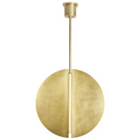 Bau 28 Pendant Natural Brass 3000K 90 CRI Integrated LED 90 CRI 3000k 120v-277v unv