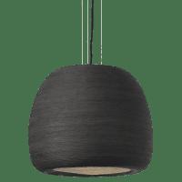 Karam Large Pendant Large Black/Black no lamp