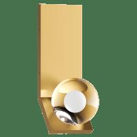 Mina Wall Natural Brass 3000K 90 CRI LED 90 CRI 3000k 120v