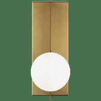 Orbel Wall  Aged Brass No Lamp