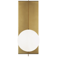 Orbel Wall Aged Brass 3000K 90 CRI Bi-Pin G9 LED 90 CRI 3000K 120v (t20/t24)