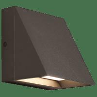 Pitch Single Outdoor Wall Single Bronze 3000K 80 CRI led 80 cri 3000k 120v