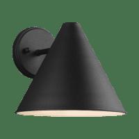 Crittenden Medium One Light Outdoor Wall Lantern Black