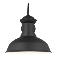 Fredricksburg Large One Light Outdoor Wall Lantern Black Bulbs Inc