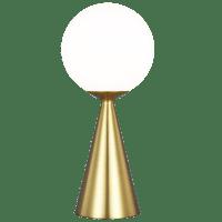 Galassia Table Lamp Burnished Brass Bulbs Inc