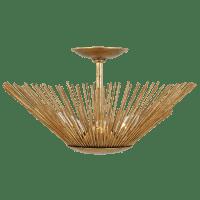 Helios Flush Mount Antique Gild